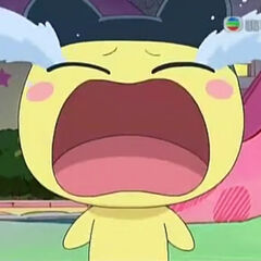 Mametchi crying