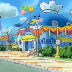 The Tamagotchi Restaurant in <i>Tamagotchi: The Movie</i>
