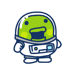 Kuchipatchi as an astronaut