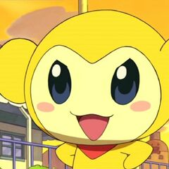 Kikitchi after succeeding in making Memetchi and Makiko slip