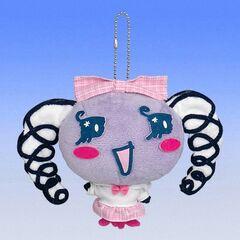 A keychain plush of Makiko