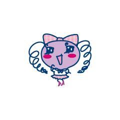 Makiko wearing a school uniform