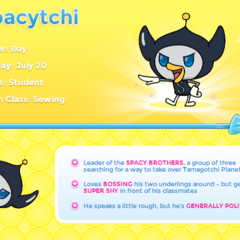 Spacytchi's Profile on TamagotchiFriends.com