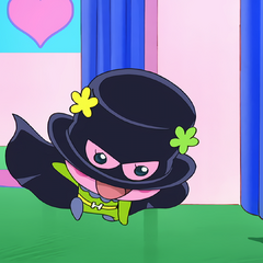 Flowertchi dressed as the <a href=