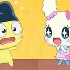 Man, Mametchi and Lovelitchi and so shocked seeing each other.