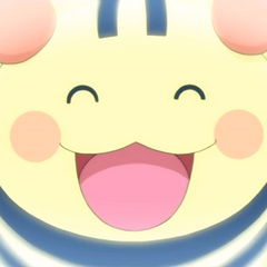 Shimashimatchi in Tamagotchi: Happiest Story in the Universe!