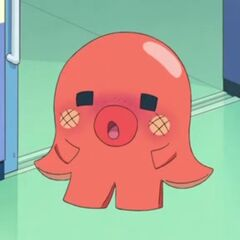 Octodogtchi feeling embarrassed