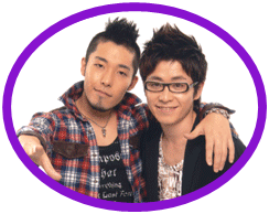 Atsuhiko Nakata (left) and Shingo Fujimori