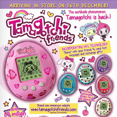Tamagotchi Friends advertisement