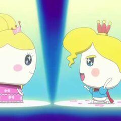 Princess Tamako being proposed to by Prince Tamahiko