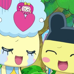 Moriritchi with Pashalin and Mametchi