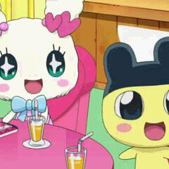 Mametchi with his tama-friend Lovelitchi