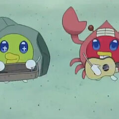 Akaspetchi in a Krabs Costume