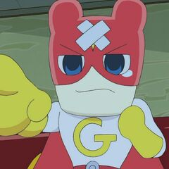 Gotchiman injured