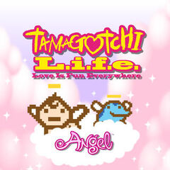 Tamagotchi L.i.f.e. Angel title screen