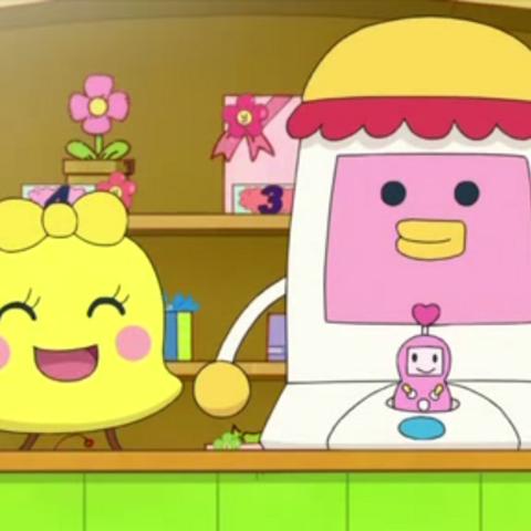 Belltchi in the Tamagotchi! anime.