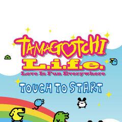 Tamagotchi L.i.f.e. title screen