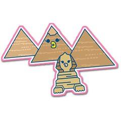Tamagotchi pyramids of Giza
