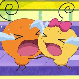 Imotchi and Memetchi bawling
