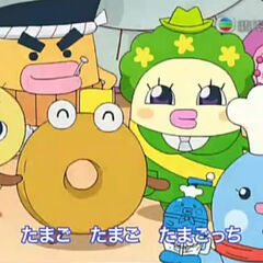 Donutchi in one of Tamagotchi!'s opening themes