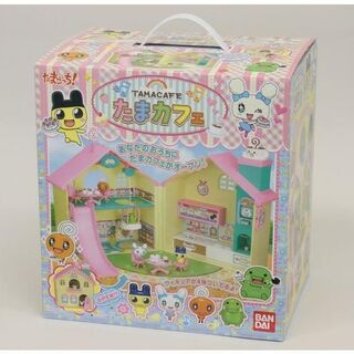 The TamaCafe toy, boxed