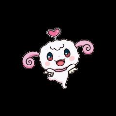 One of Hapihapitchi's anime poses