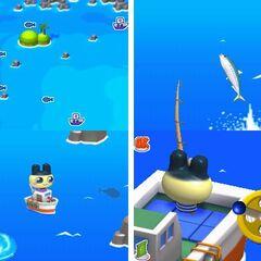Gameplay fishing
