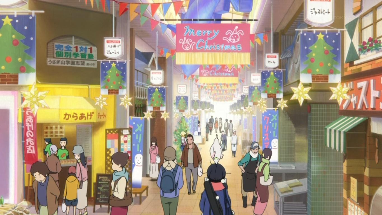 usagiyama shopping district tamako market wiki fandom powered by wikia. Black Bedroom Furniture Sets. Home Design Ideas