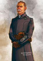 Officer - long coat
