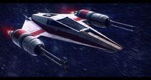 Star wars incom t 38 w wing by adamkop-d5v2a3a
