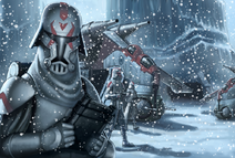 Clone snowtroopers