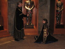 Me Being Knighted (in case you doubted my tale)