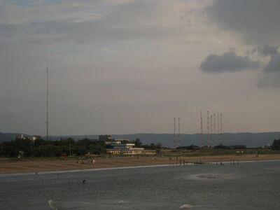圖片4沙崙海水浴場海岸線