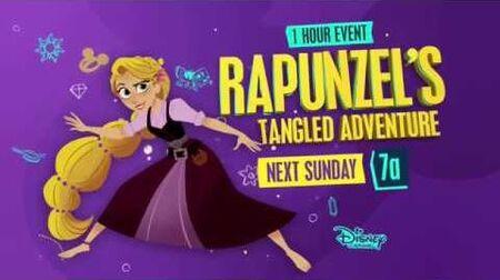 Rapunzel's Tangled Adventure Season 2 finale Destinies Collide Promo