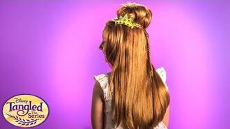 Rapunzel Leaves Her Tower Rapunzel's Pony Tales Tangled The Series Disney Channel