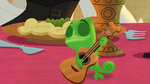 Pascal Playing a Guitar