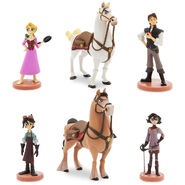 Tangled The Series Figure Play Set