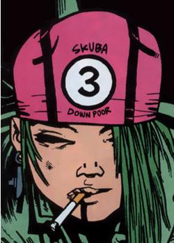 Sub Girl comics