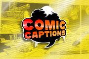 Comic captions