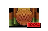 Multiplier Pass Bronze 100%