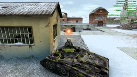 Rank up in Tanki-Third Lieutenant The invasion of rombs