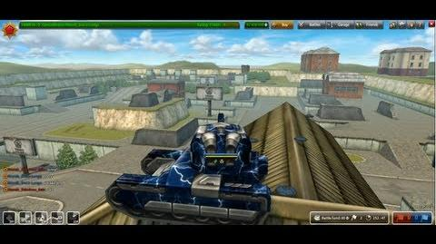 Tanki Online GoldBox500 Parkour - Deathtrack