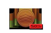 Multiplier Pass Bronze 50%