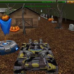 2012 Halloween Holiday, Halloween map.