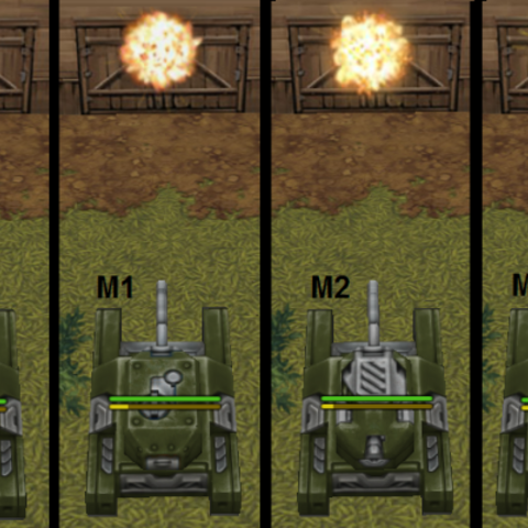 Each M version of a turret or a hull has a unique look. In the following image, the different versions of <a href=