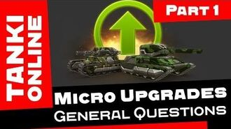 TANKI ONLINE Micro Upgrades Review Part 1 General Questions ENGLISH VERSION