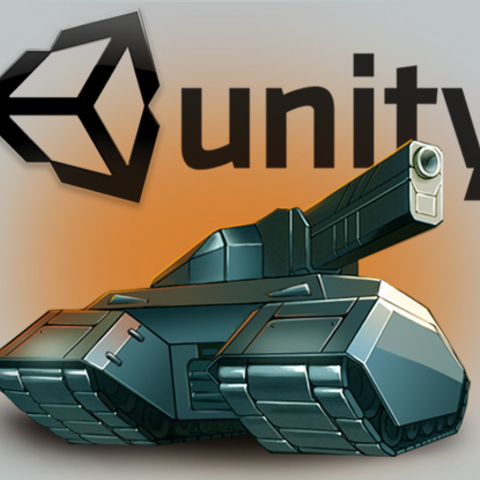 The historic logo of Tanki's Unity version, from the announcement on the upcoming game