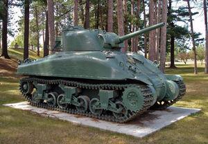 M4A1 Grizzly Sherman CFB Borden