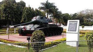 M47 displayed in Bangalore