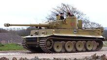 Tiger tank real life